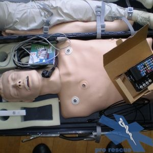 Training material and manikin